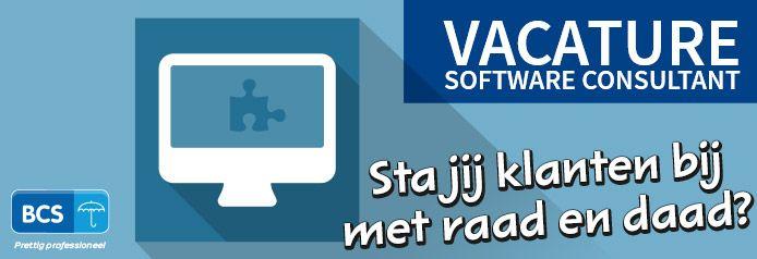 Solliciteer NU op de functie Software consultant! https://www.bcsbv.nl/vacatures/software-consultant/ , BCS HRM & Salarisadministratie B.V.