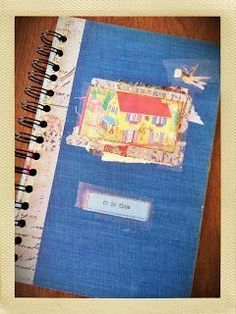 How To Make A Spiral Bound Journal Out Of An Old Hardback Book Insert Mostly Blank Pages For The Journal With Book Crafts Upcycle Books Spiral Bound Journal