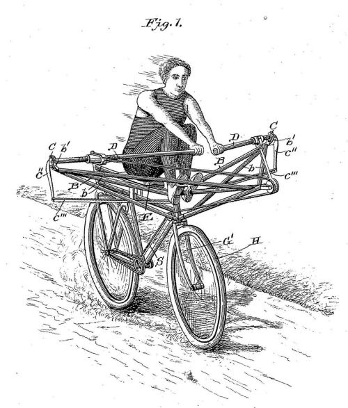 This Bike Was Invented By Louis S Burbank From Worcester