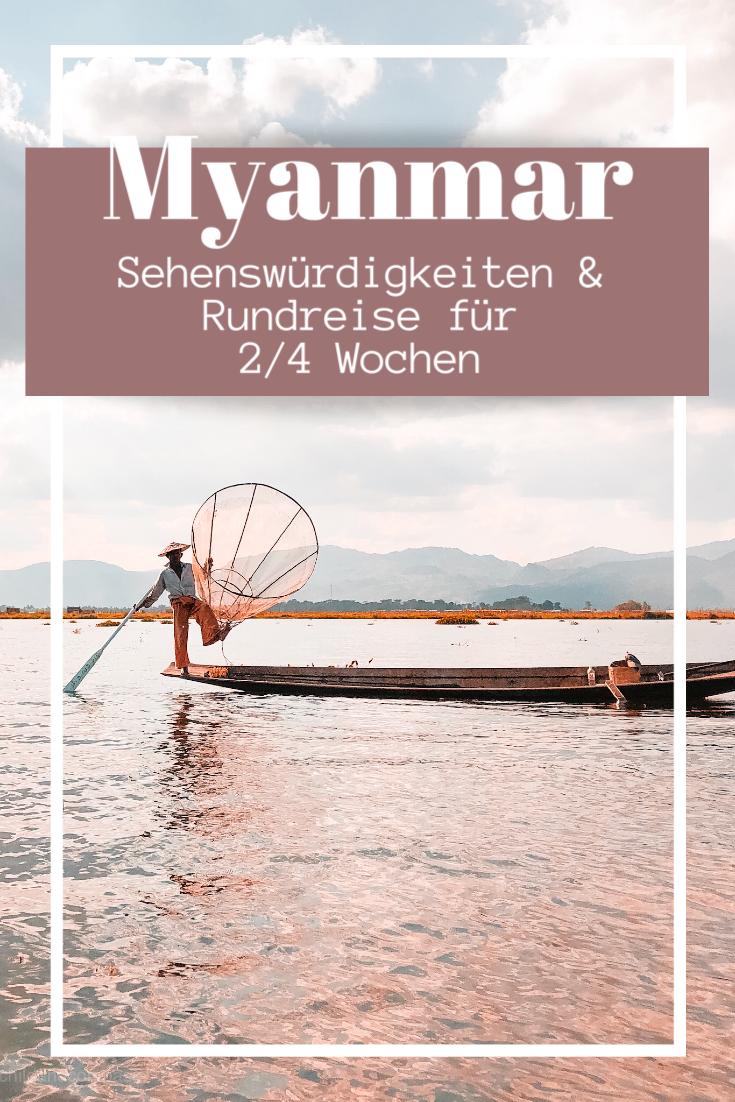 Myanmar Route für 3 Wochen – flexible Rundreise für 2 bis 4 Wochen durch Burma ⋆ Child & Compass