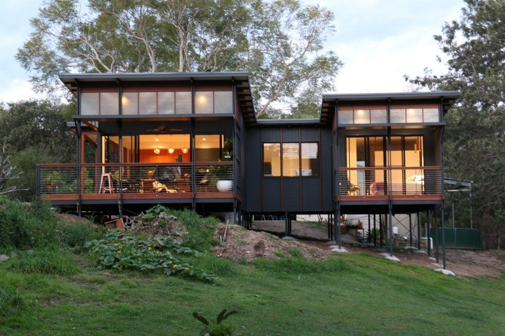 80sqm Small House Built At Samford V Flat Roof House