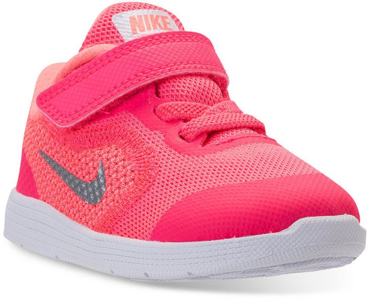 Nike Toddler Girls Revolution 3 Stay Put Closure Running Sneakers From Finish Line Affiliate Link Kinder Schuhe Kleinkind Madchen Schuhe Baby