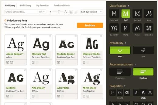 Image result for typekit