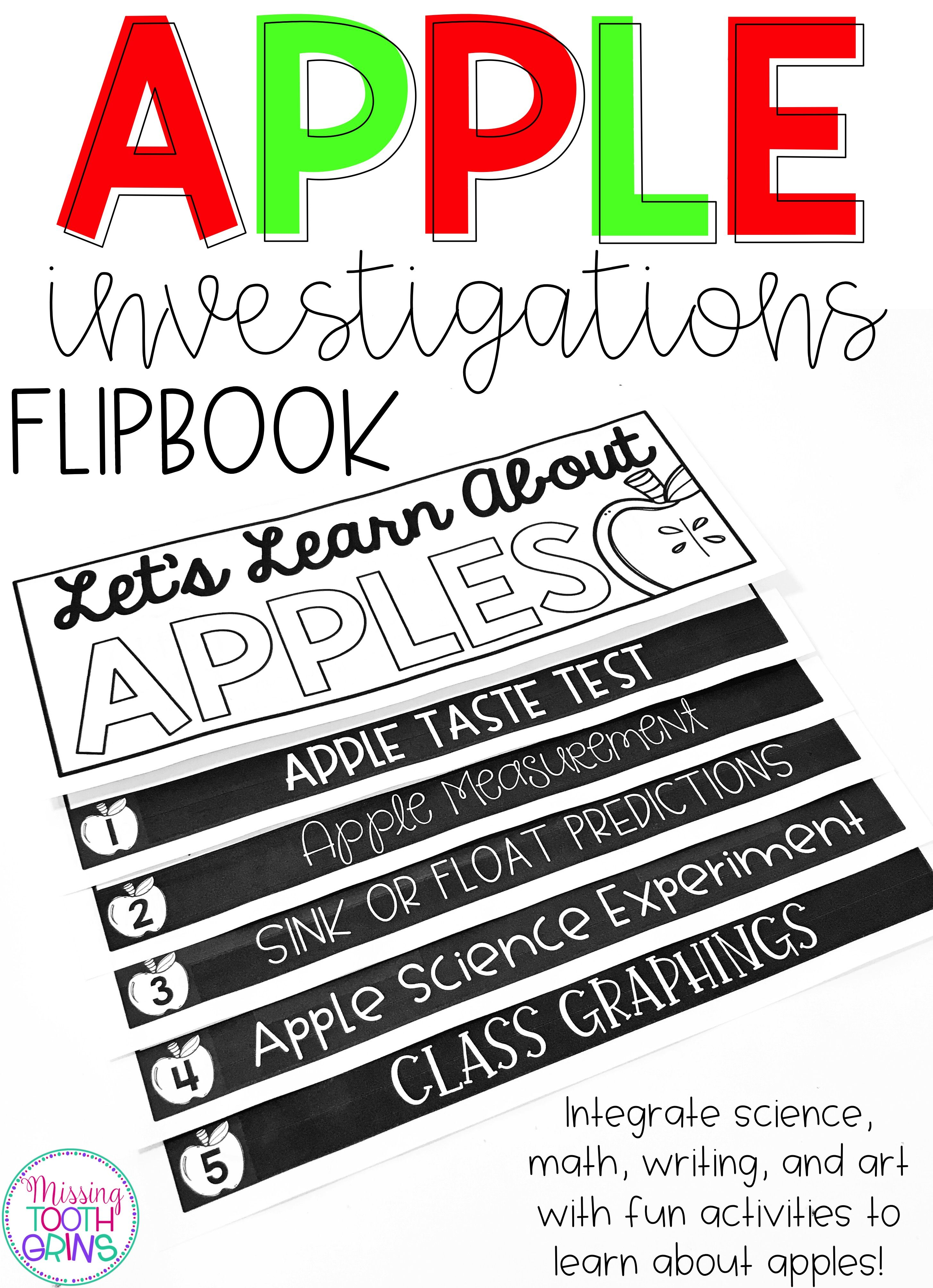 Apple Investigation Flipbook