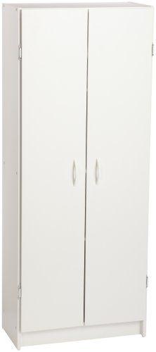 ClosetMaid 8967 Pantry Cabinet, White ClosetMaid $77 60x24x12.5  Https://smile