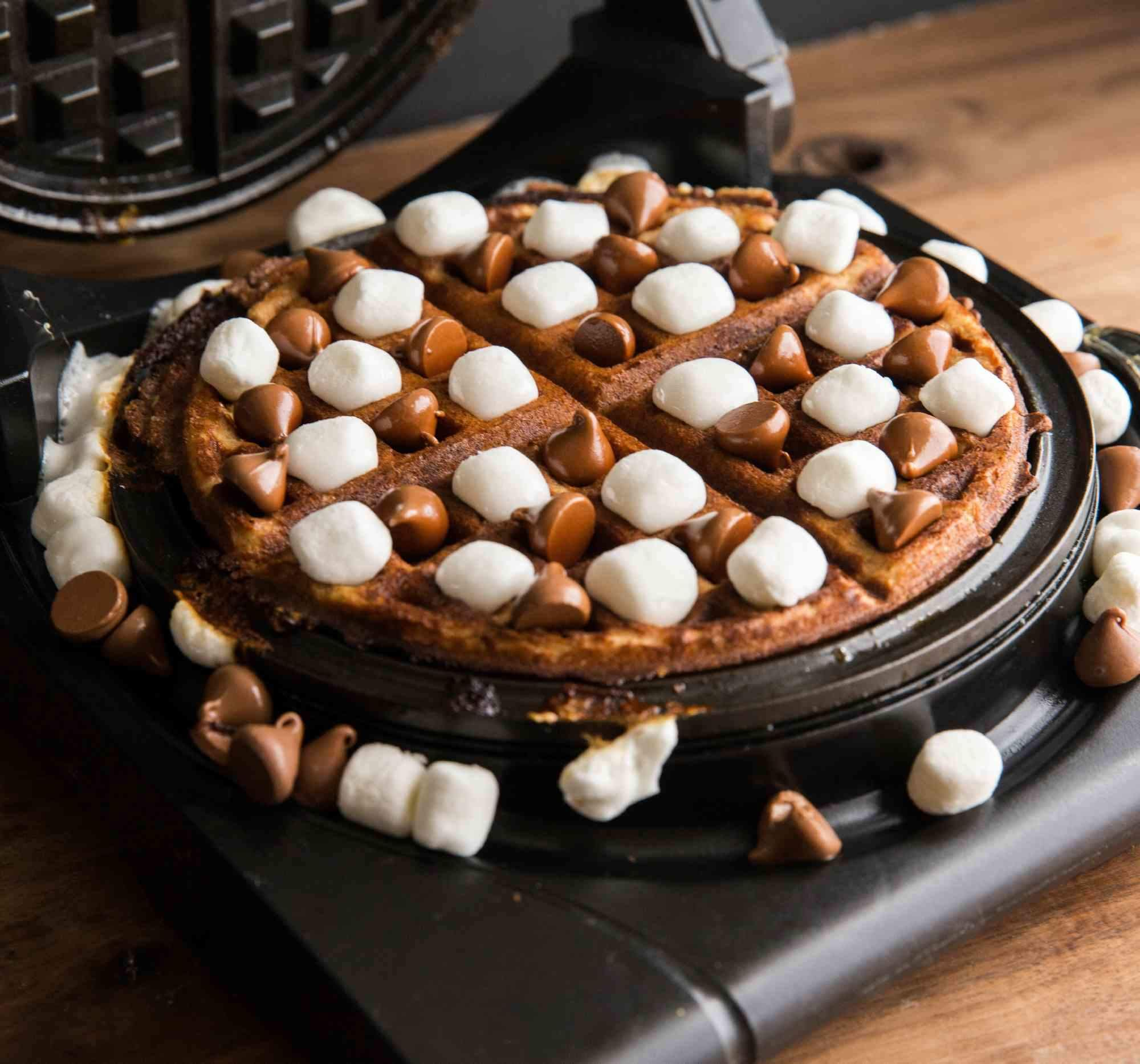Waffle S'mores Taste Just Like the Real Deal, but Are So Much Easier