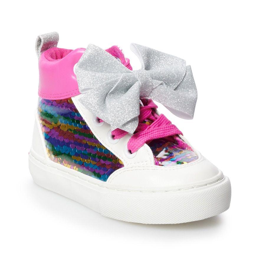 JoJo Siwa Rainbow Sequin Toddler Girls