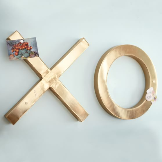 Emily + Meritt XOXO Wall Décor, Set of 2 | PBteen