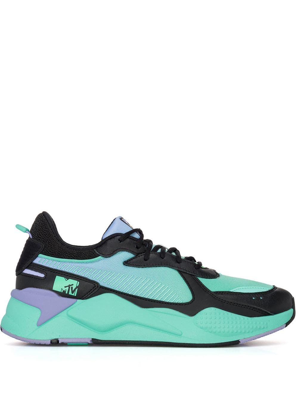 dd1d9fd0829 PUMA PUMA PUMA X MTV RS-X SNEAKERS - GREEN. #puma #shoes | Puma in ...