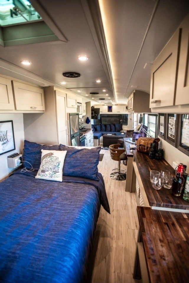 Photo of Awesome Photo of STUNNING MAKEOVER TO RV TRAVEL TRAILER