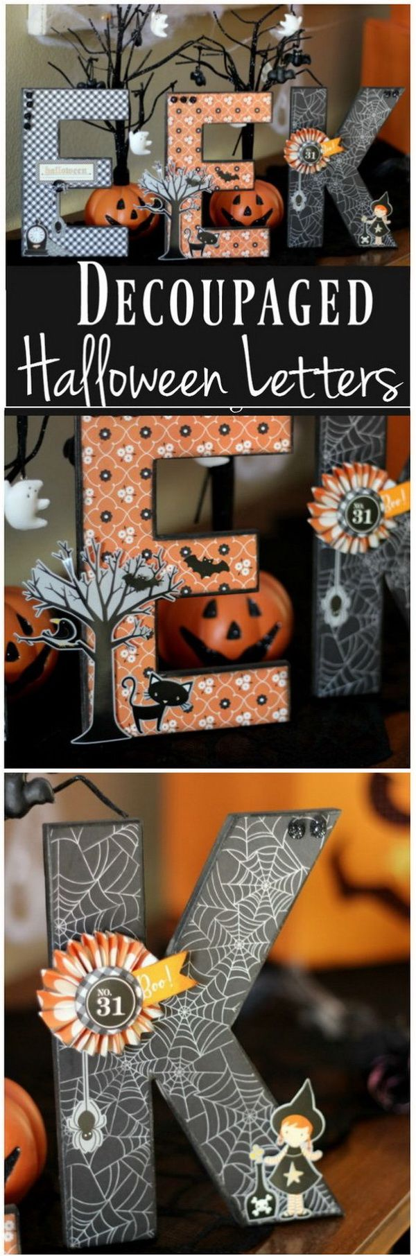 30+ Homemade Halloween Decoration Ideas Halloween by Shannon Grose - Whimsical Halloween Decorations
