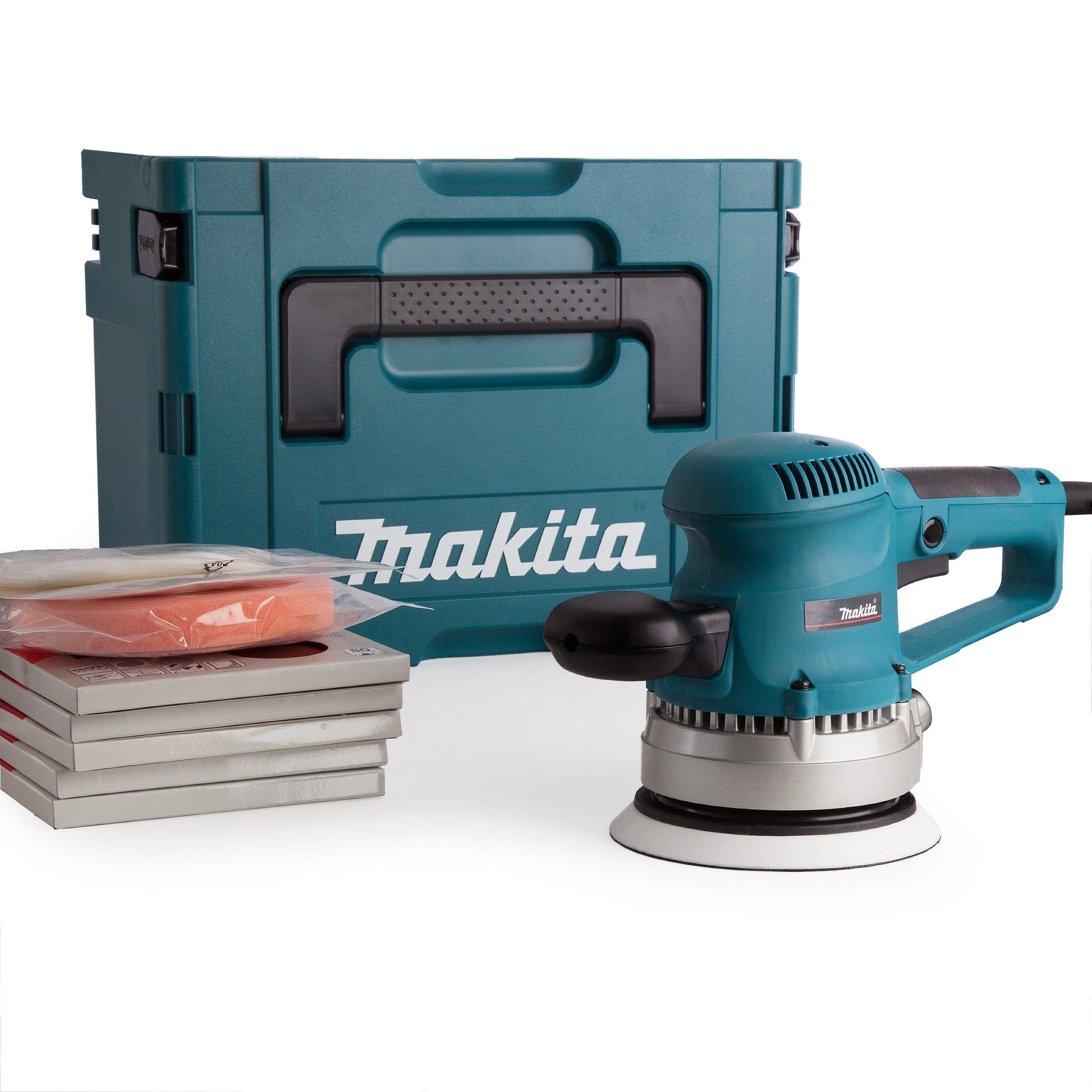 Makita Bo6030 150mm Random Orbit Sander Makita Tools Best Random Orbital Sander Cool Tools