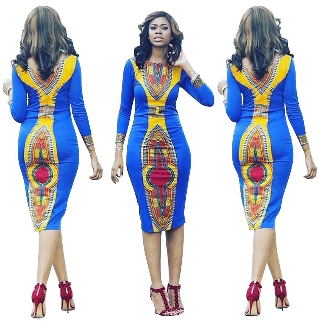 Robe Africaine African Dresses For Women 2017 Cotton ...