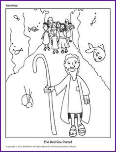 Joshua Crosses The Jordan River Activities And Crafts Google Search Parting The Red Sea Moses Red Sea Sunday School Coloring Pages