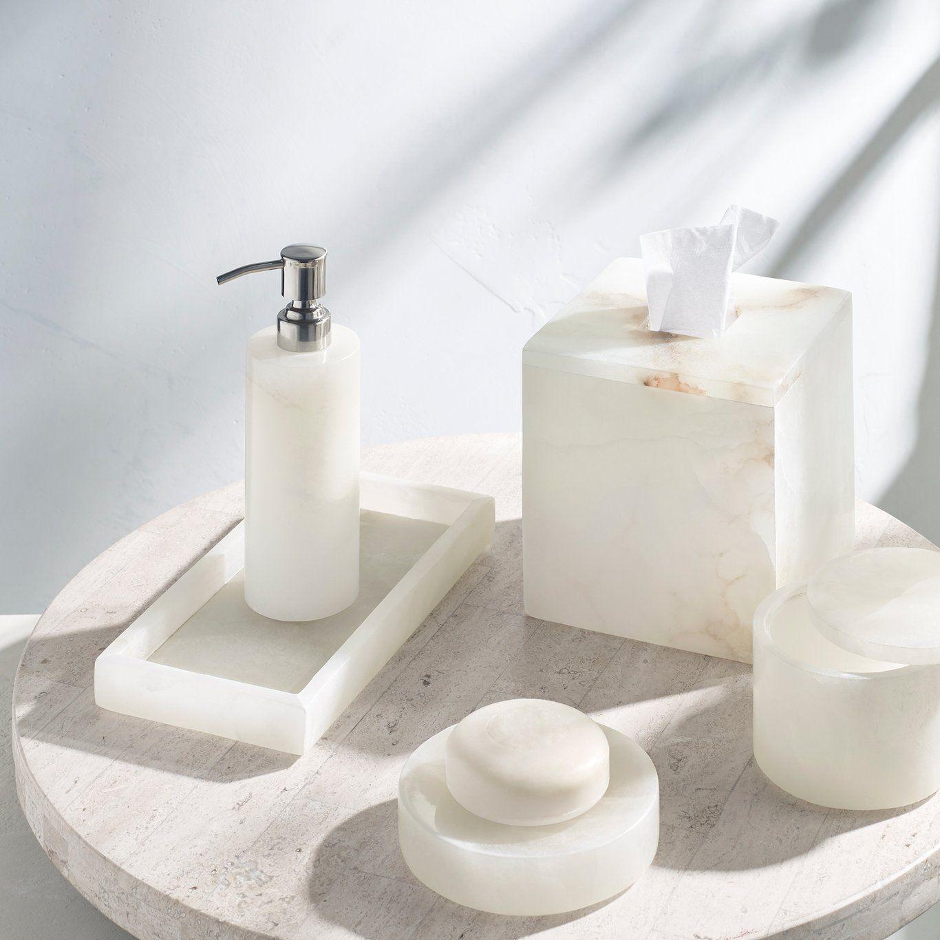 Alabaster Bath Accessories Bath Accessories Home Decor