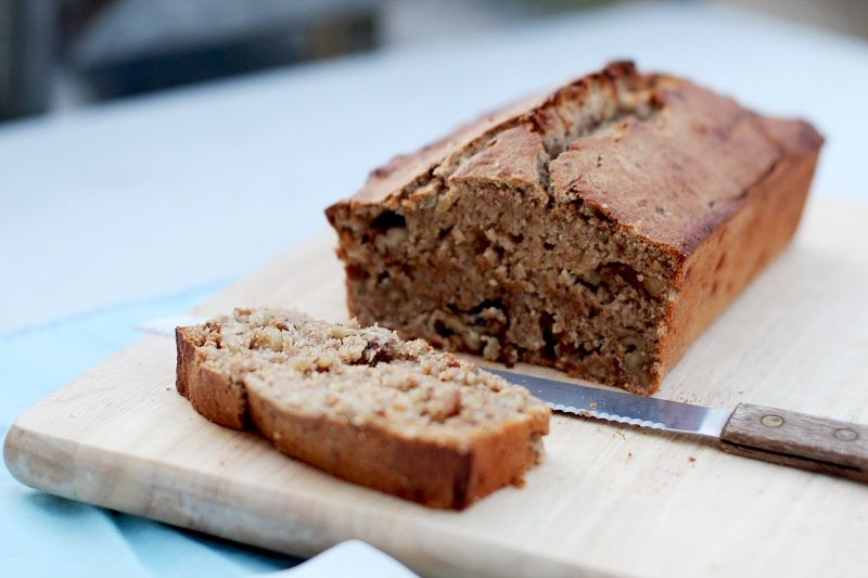 Classic Banana Nut Bread » A Full Measure of Happiness