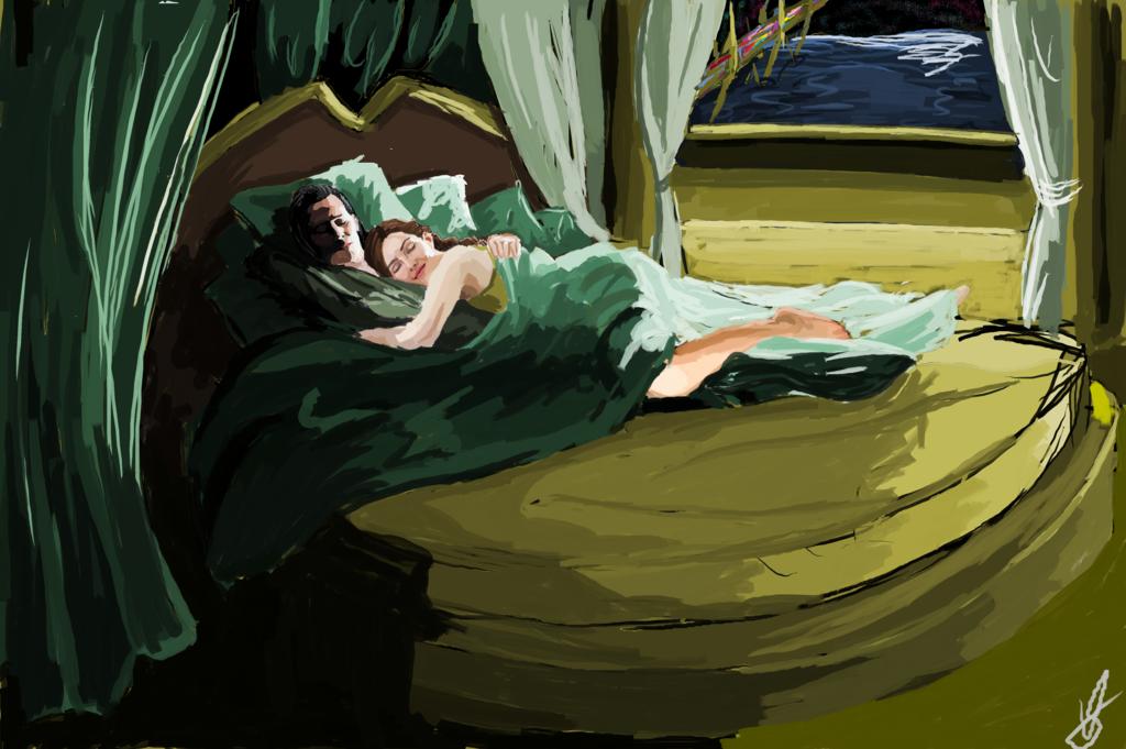 Good Morning Asgard Loki x Sigyn by waspany deviantart com on