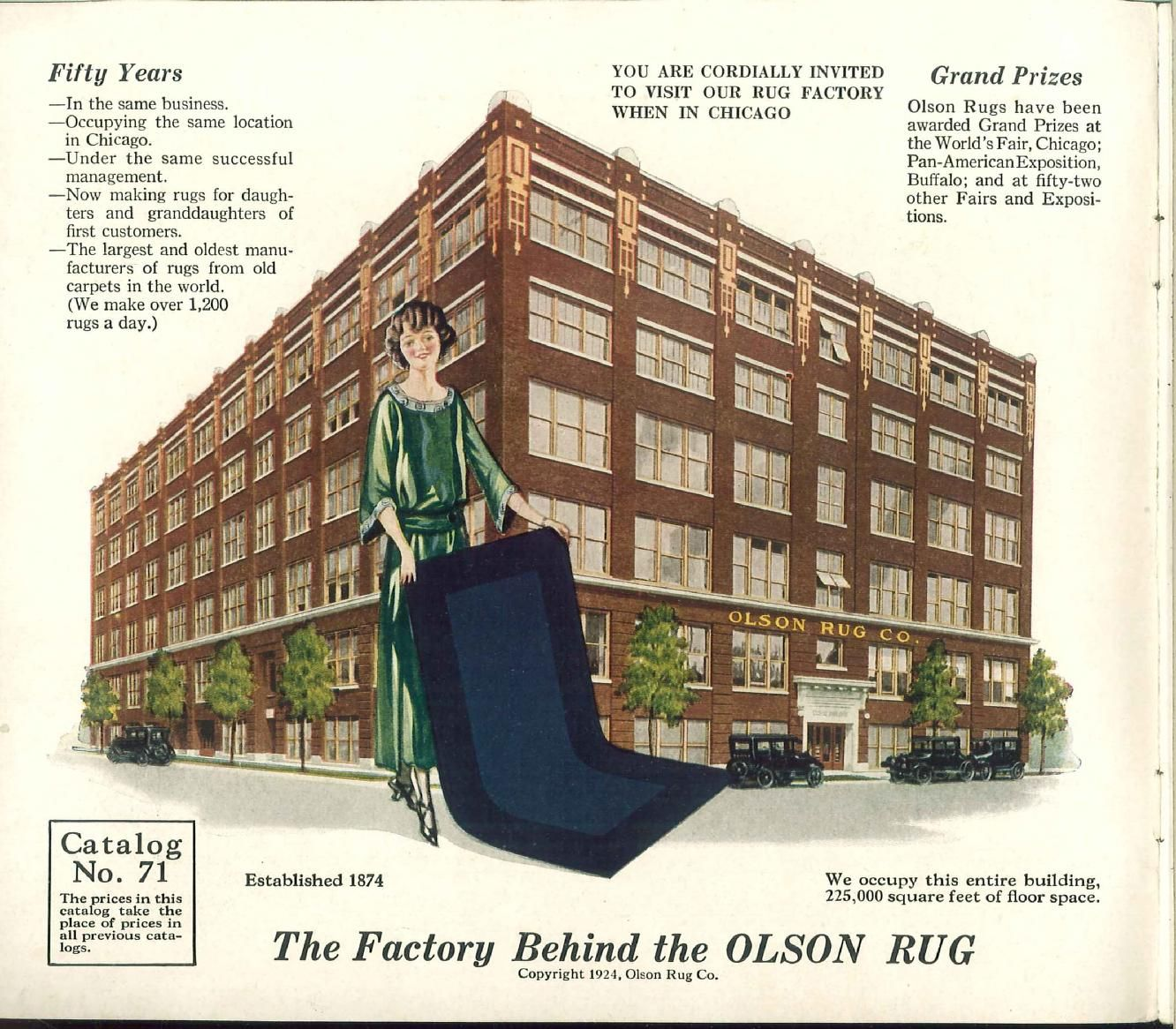 The New Olson Rugs Olson Rug Company Free Download Borrow And Streaming Internet Archive Building Rug Company Building Construction