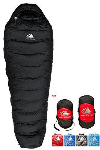 Hyke Byke Snowmass 0 Degree Down Sleeping Bag For Backpacking Ultralight Mummy Down Bag With Lig Down Sleeping Bag Winter Sleeping Bag Ultralight Sleeping Bag