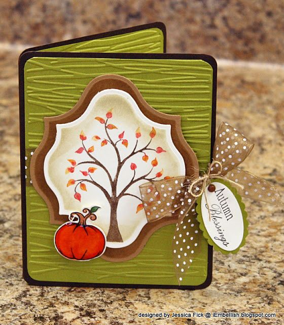 iEmbellish: Preview Day 2: Fanciful Fall, So Groovy and Sandy Claws Card kit!