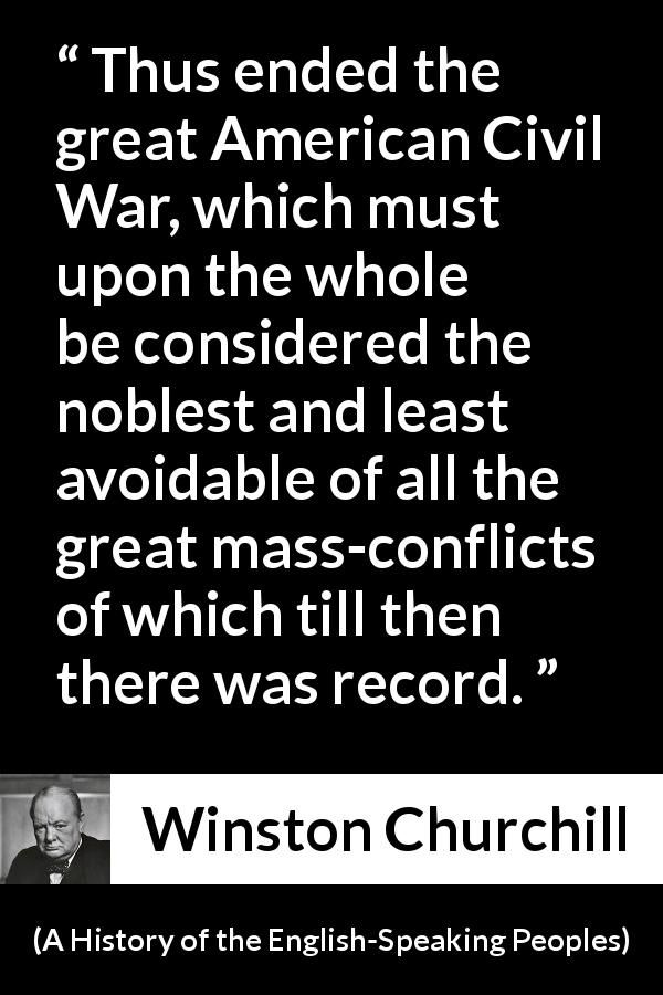 Winston Churchill About War A History Of The English