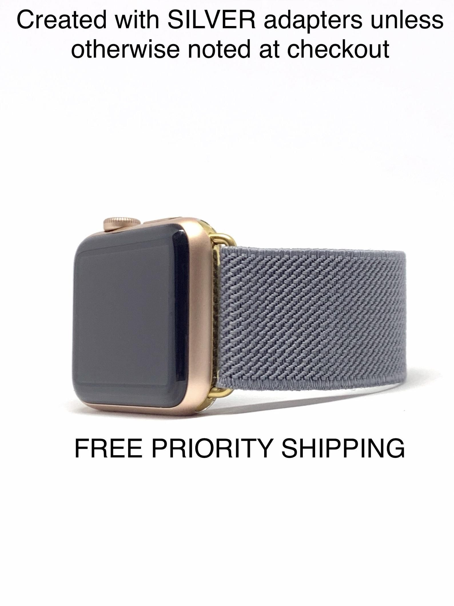 Apple Watch Sport 42mm Space Gray Aluminum Case W Pebble Color Sport Band Vg Ebay Link Apple Watch Sport Apple Watch Pebble Color