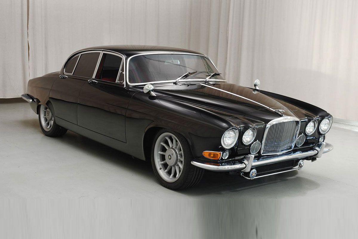 flott f rs alter jaguar mark v mit xjr6 technik cars. Black Bedroom Furniture Sets. Home Design Ideas
