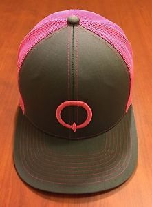 low priced d3588 ae892 ☀Q LOGO MARQUEE Day   Night Club☀The Cosmopolitan Hat Cap Gray   Pink  SnapBack   eBay