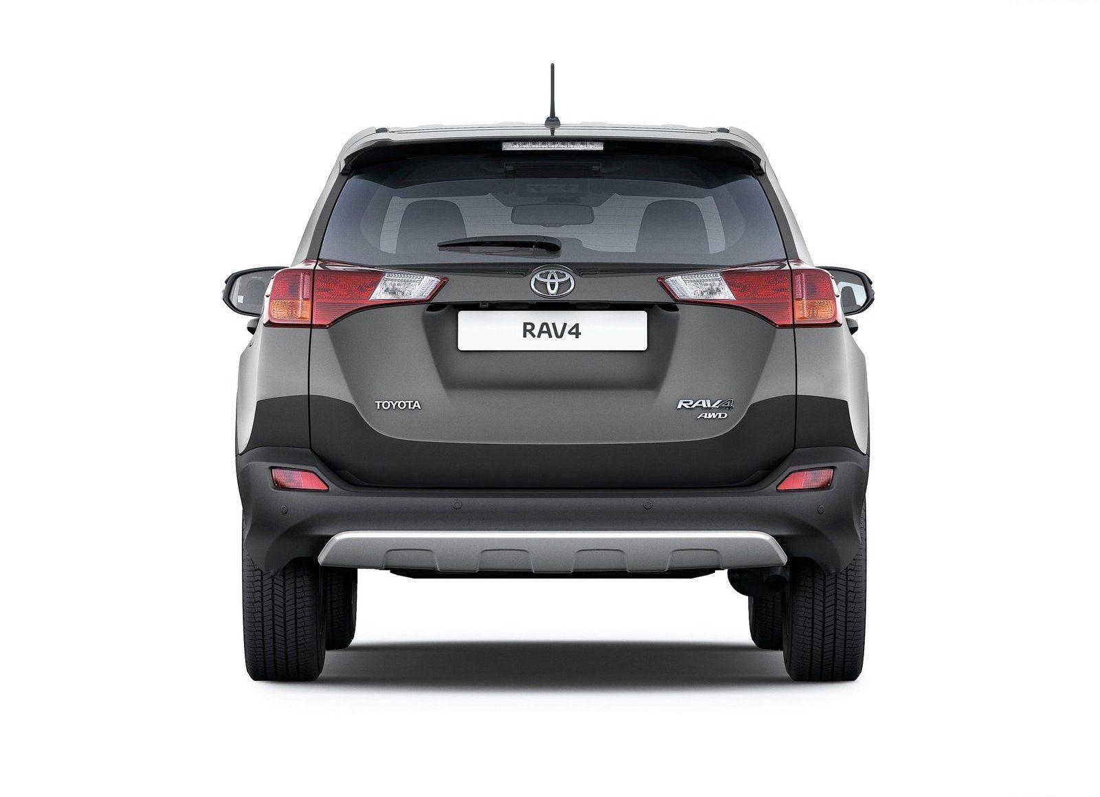 2014 Toyota Rav4 Rear Wallpaper New Car Reviews Wallpaper white toyota car rear view