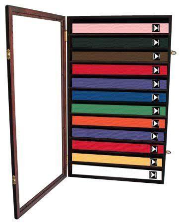 Pin By Laci Young On Husband Taekwondo Belt Display Belt Display Karate Belt Display