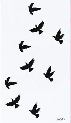 #forearm #tattoos #tattoo #birds #ink #design