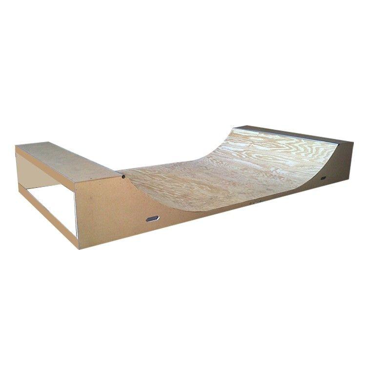 Garage mini ramp awesome mini ramp to shred skateboard for Skateboard chair plans