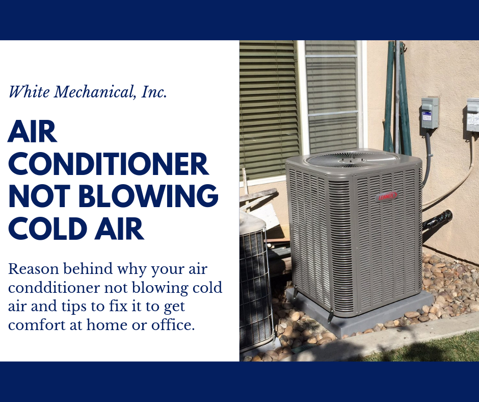If your AC is not blowing cold air, there are several
