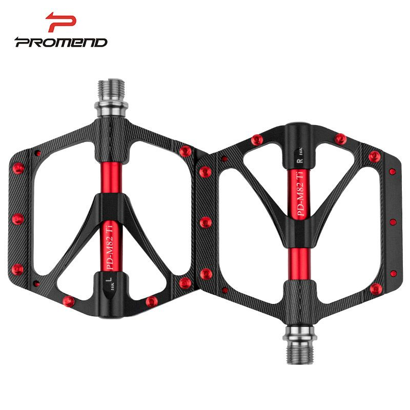 Promend Bicycle Pedal Mtb Widened Pedals Road Cycling Sealed 3