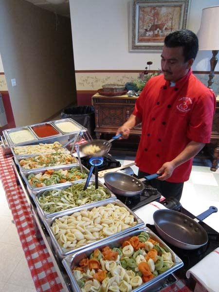 Wedding philippines 15 charming pasta bar ideas for your for 788 food bar recoleta