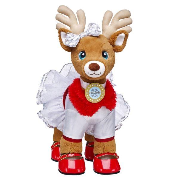 Santa S Reindeer Set Prancer Build A Bear Cute Stuffed Animals Custom Teddy Bear Build A Bear