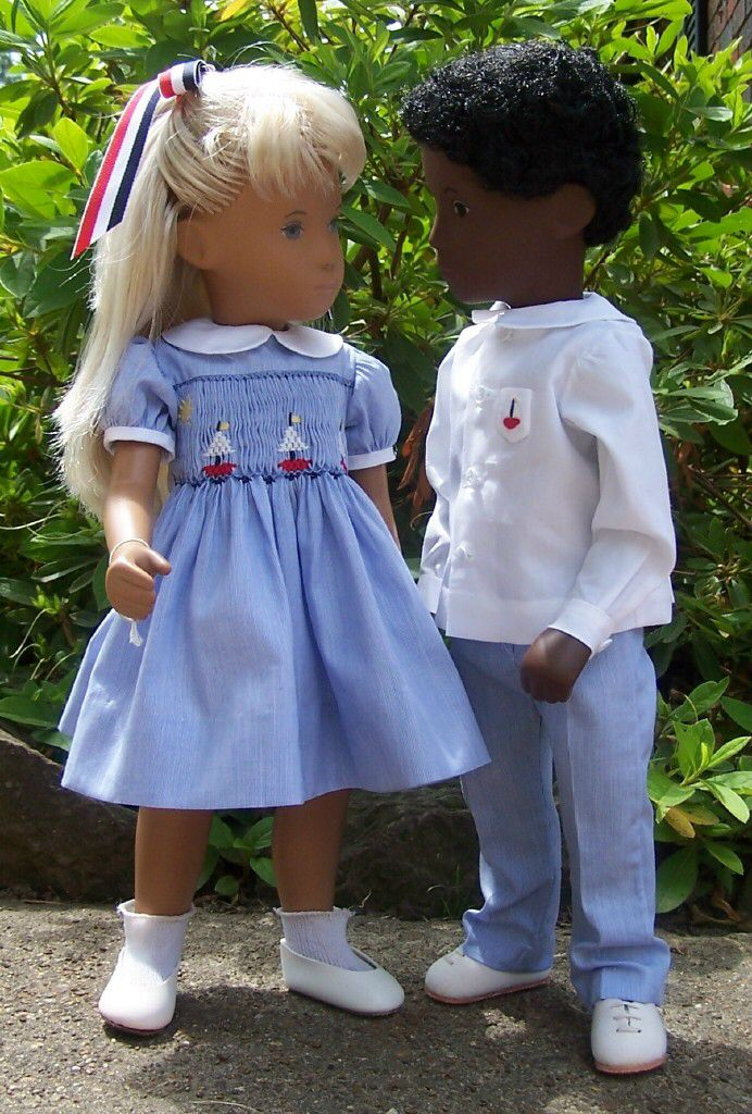 Nautical Outfits for Sasha Doll