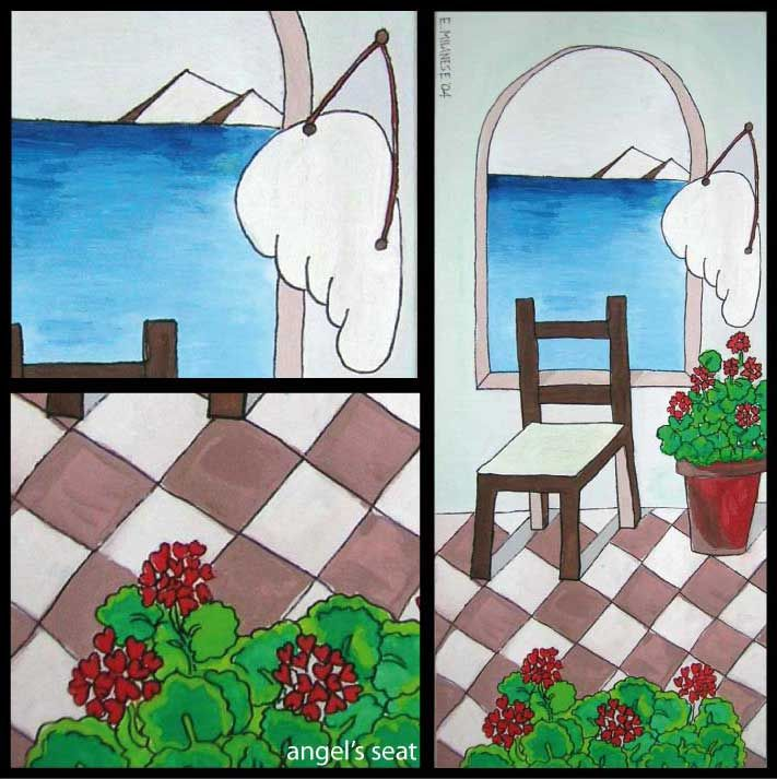 #angelsseat #me_design #angel #geraniums