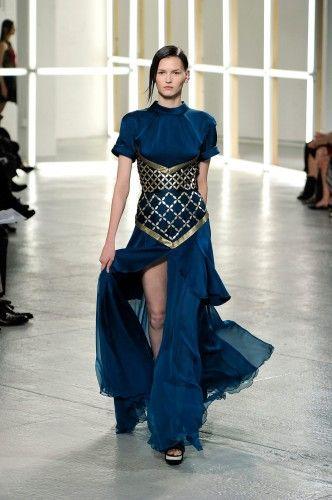 6394a29b2ec Rodarte - LOVE the corset on the dress look High Fashion Looks