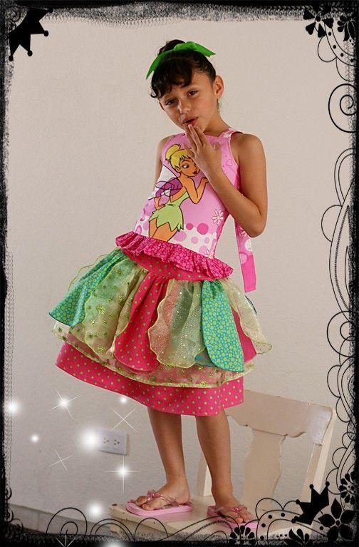Polkadotz Boutique Petal Tinkerbell skirt Set