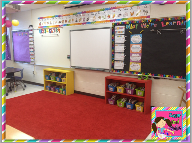 Classroom Design Experts ~ I really like all of the spaces within this first grade