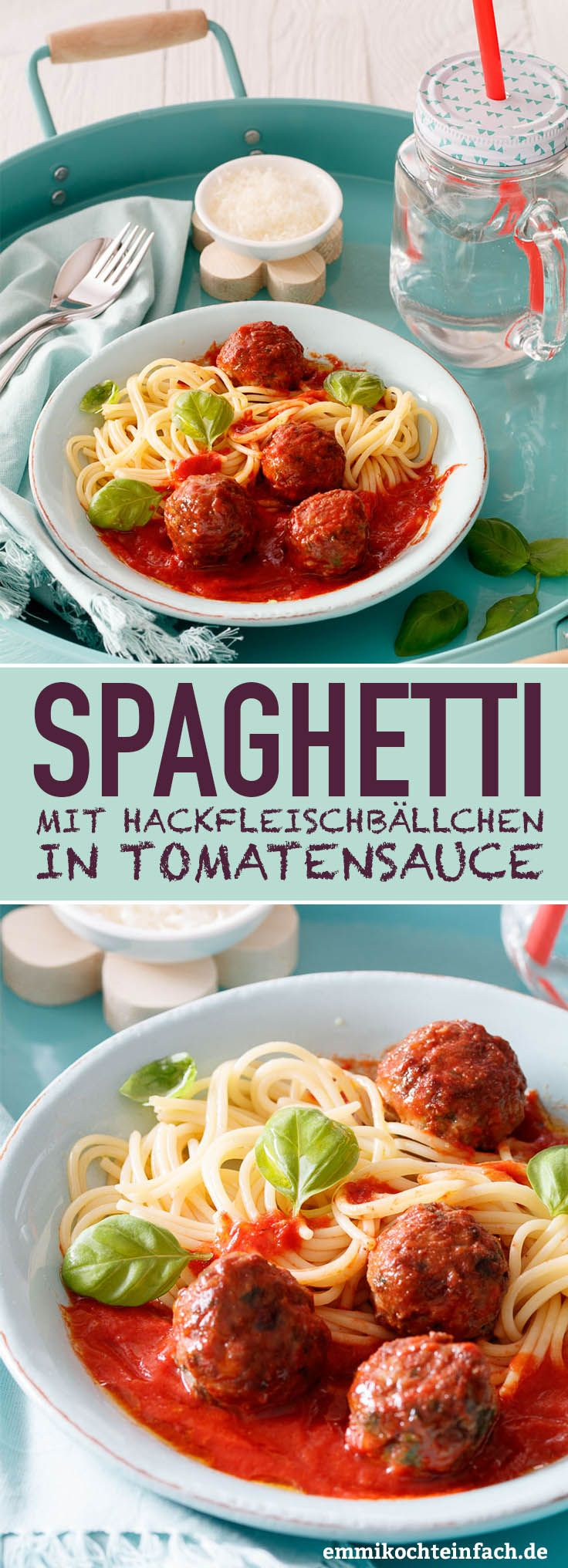 Photo of Spaghetti with meatballs in tomato sauce – easy to cook