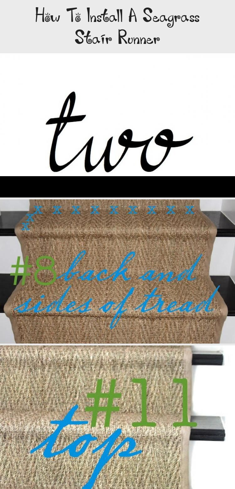 Best How To Install A Seagrass Stair Runner In 2020 Stair 400 x 300