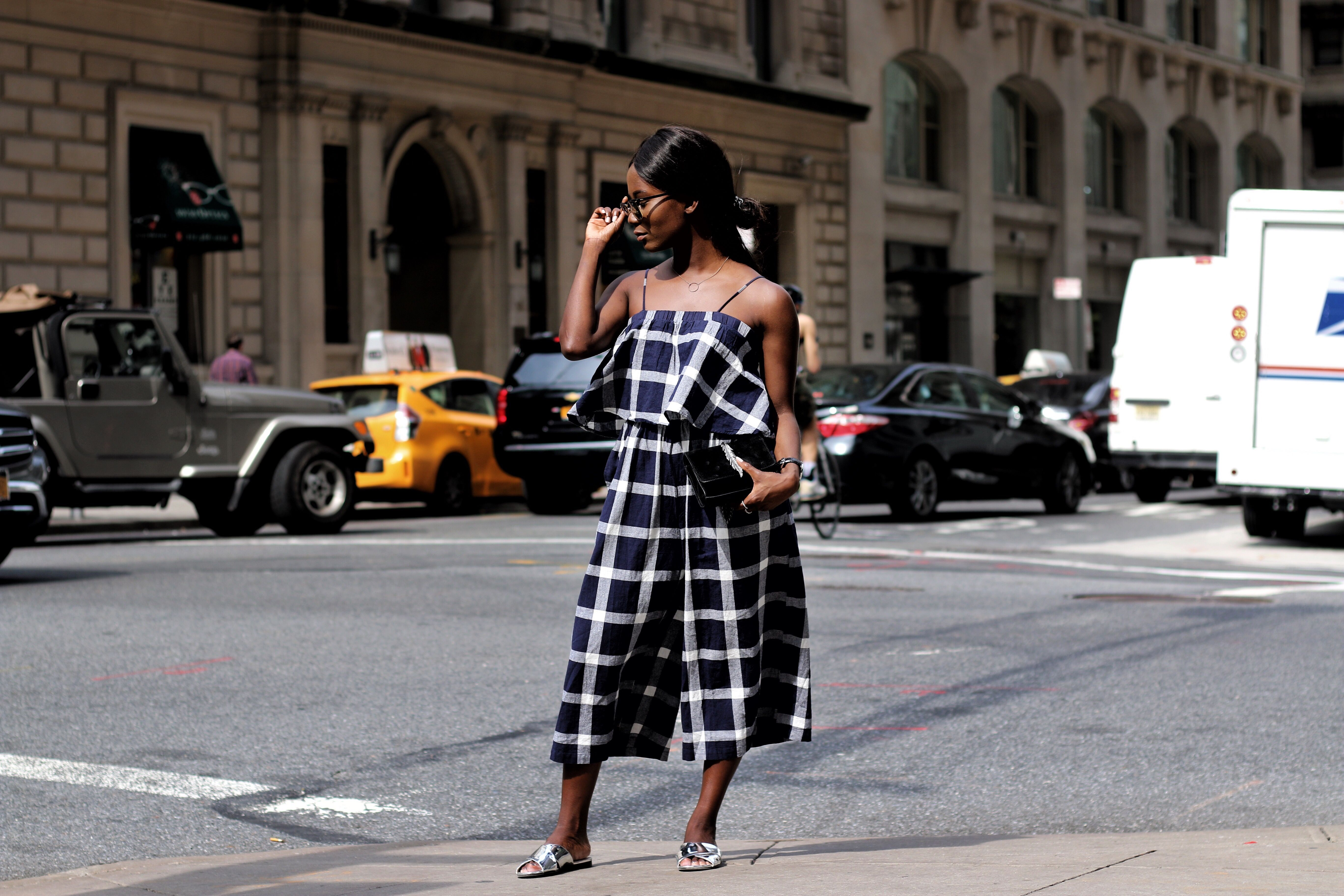 Street style with a jumpsuit