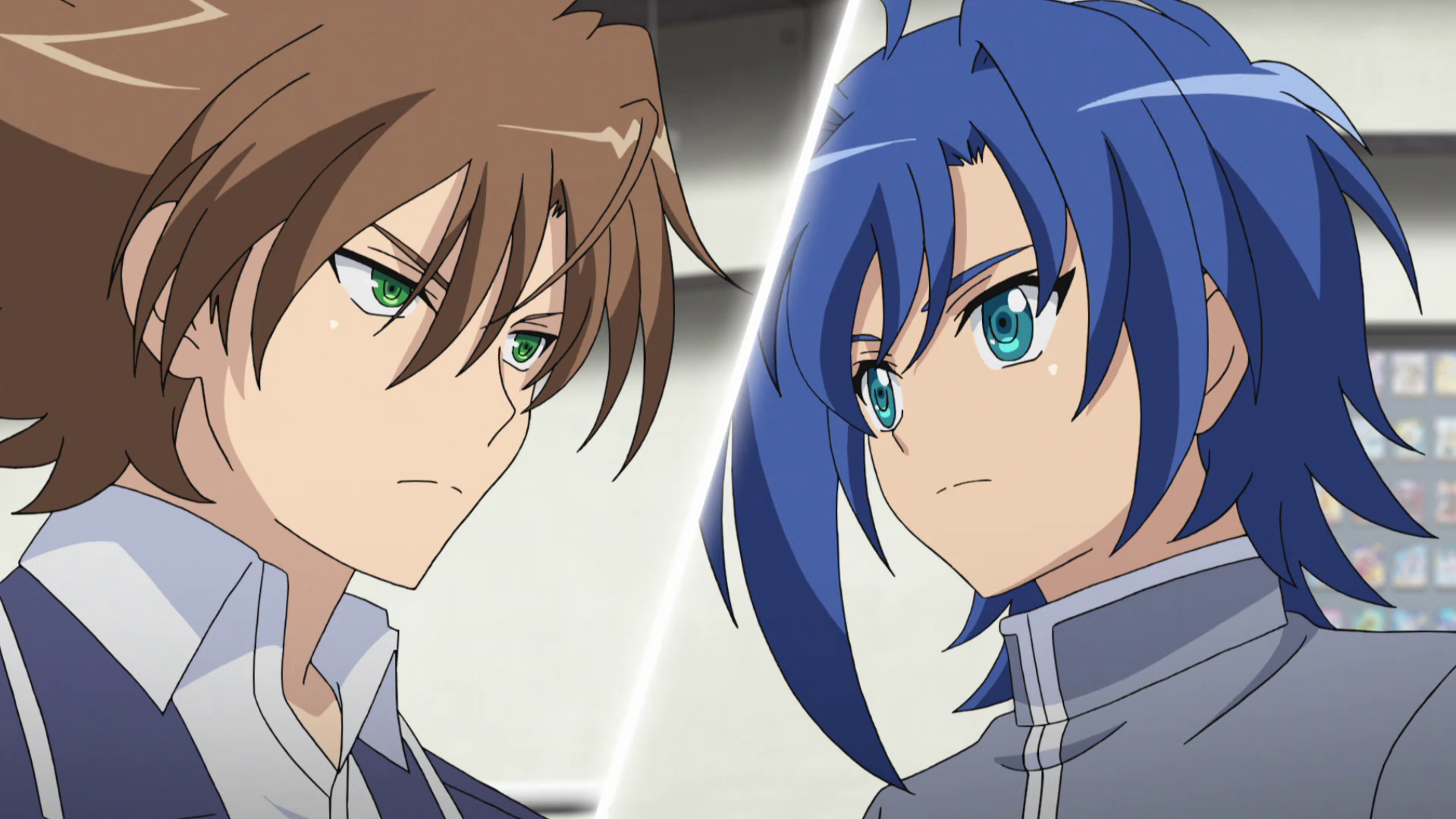 Cardfight Vanguard 2018 Aichi and Kai Anime Cardfight