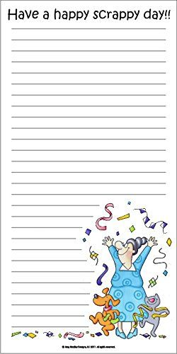 Have A Happy Scrappy Day Notepad