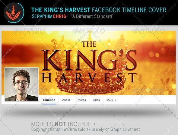 The Kings Harvest Facebook Timeline Template