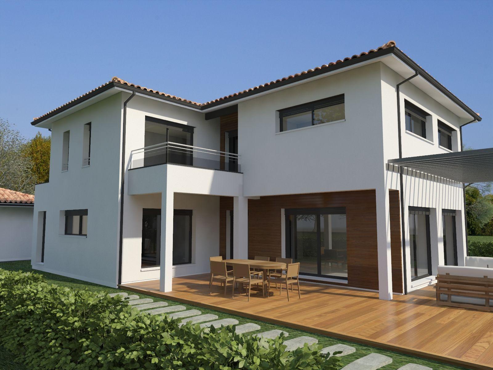 grande maison moderne et lumineuse (projet n°3) | Maisons Ariane ...