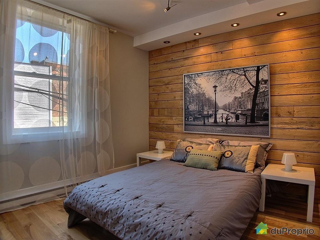 Mur en bois de pruche recherche google chambre deco chambre mur en bois et chambre rustique - Chambre en bois ...
