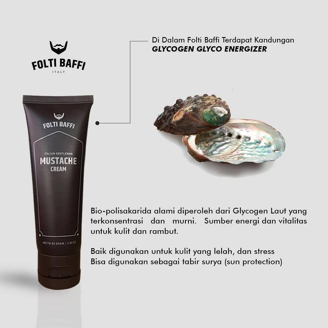 Folti Baffi Mustache Cream Penumbuh Brewok Dan Jenggot